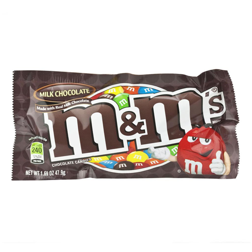 gre>M&M Milk Chocolate - sm packet