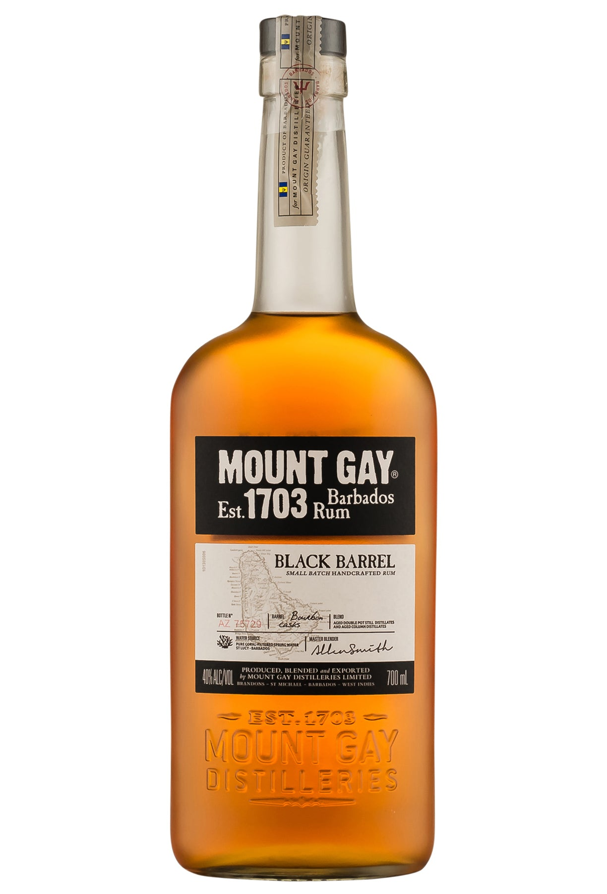 gre>Mount Gay Black Rum - 750 ml