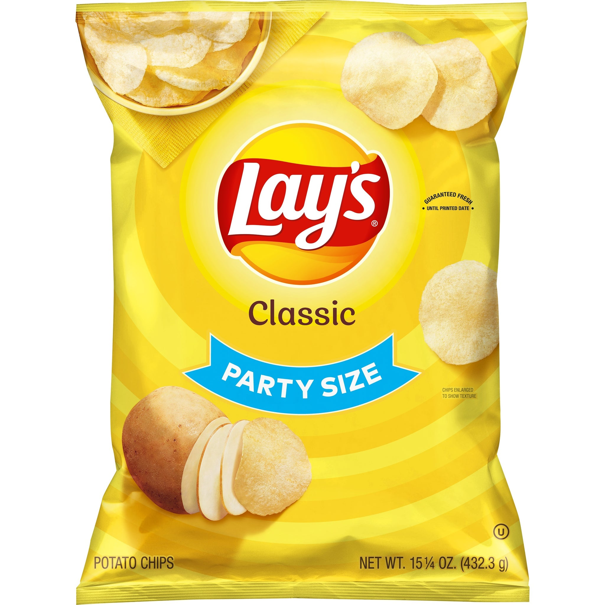 gre>Lays Classic Chips - 15 0z
