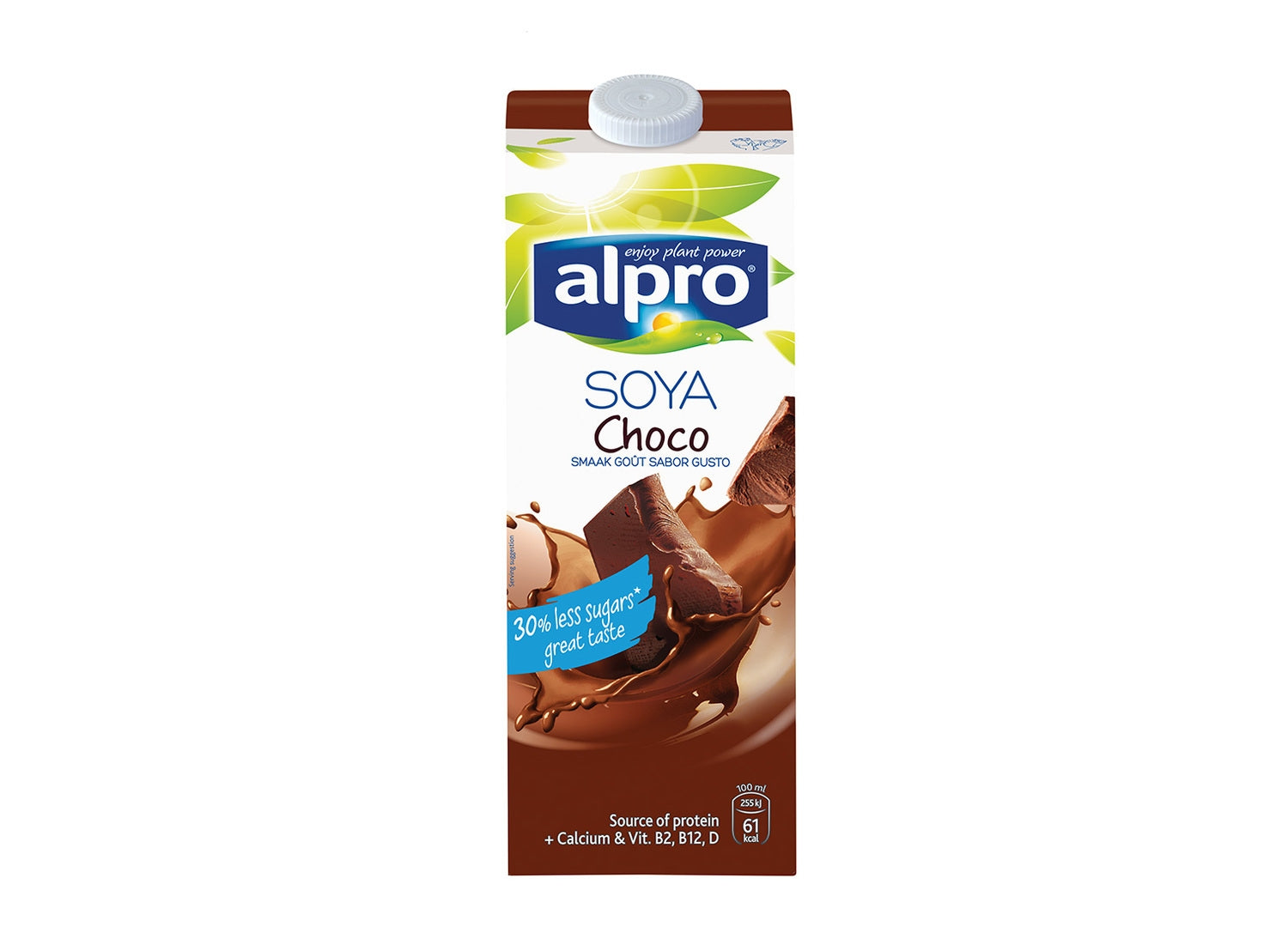 aga>Alpro Soya Chocolate Milk 250 ml