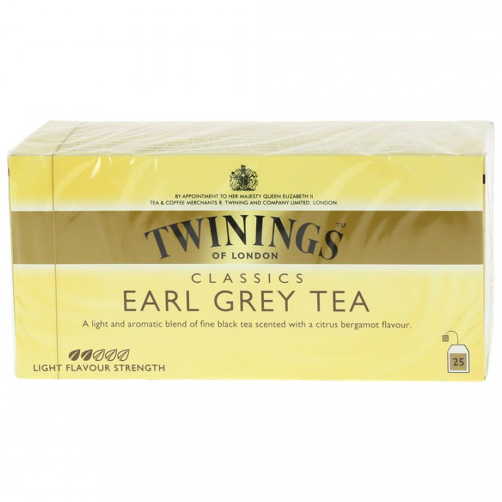 dub>Twinings Earl Grey tea