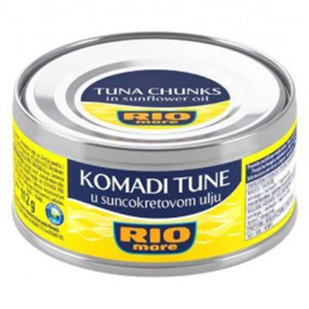dub>Rio Mare Tuna in sunflower oil