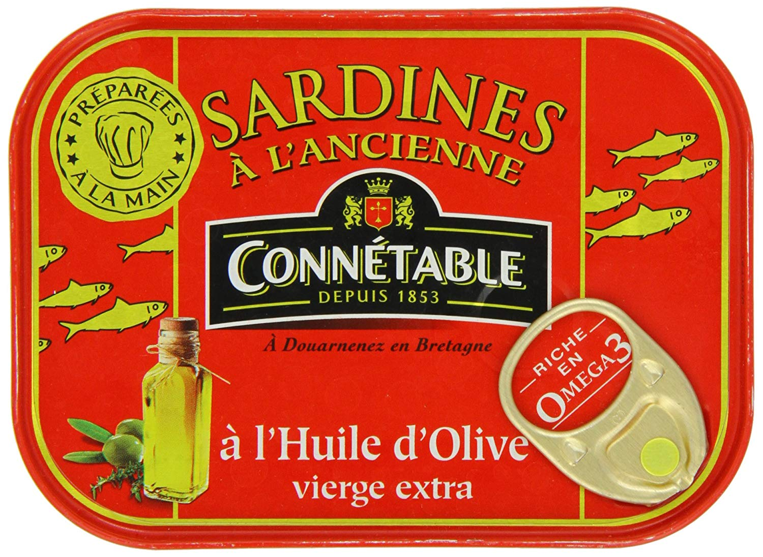 tah>Connetable Sardines in Oil 125g