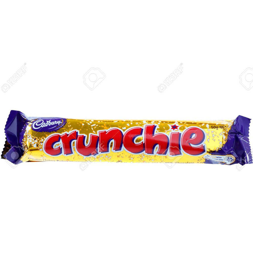 sey>Cadbury crunchie