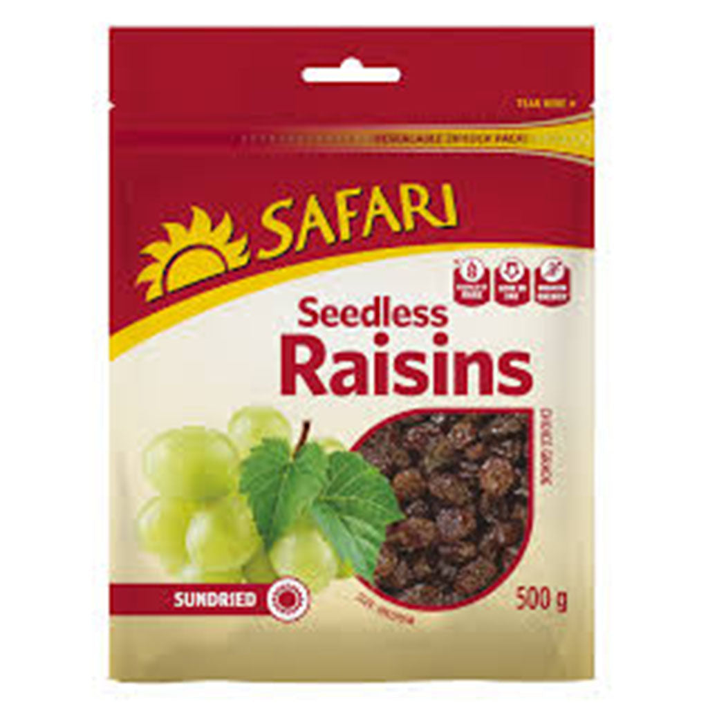 sey>Safari Dried Raisins, 500g
