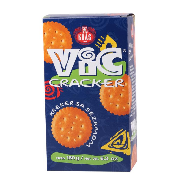 aga>Crackers Vic with sesame 180g Kraš