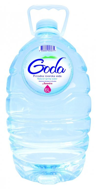 dub>Goda non carbonated natural water, 6 l