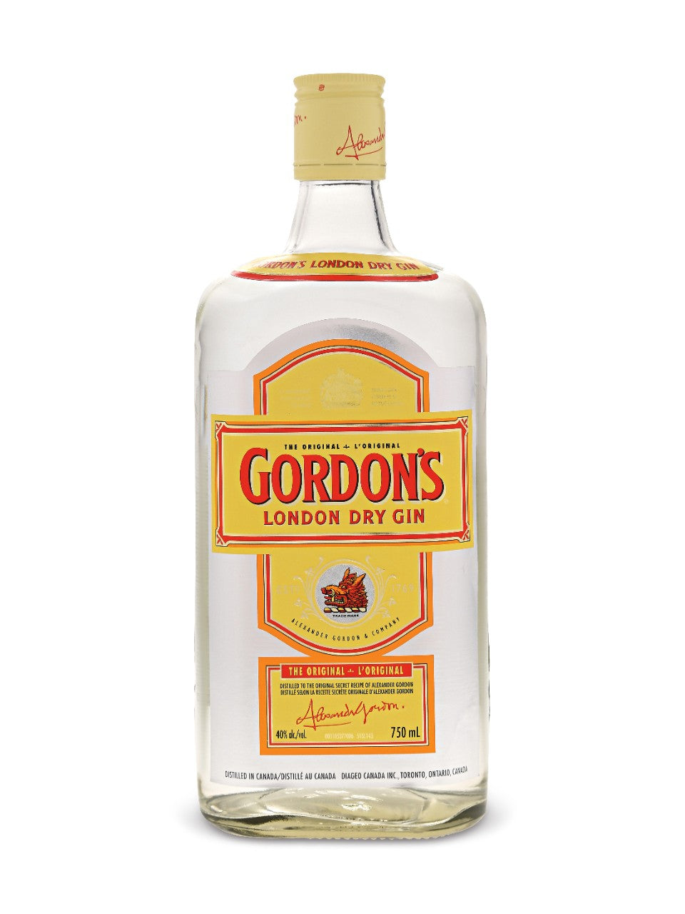 tha>Gordon's Gin 750 ml