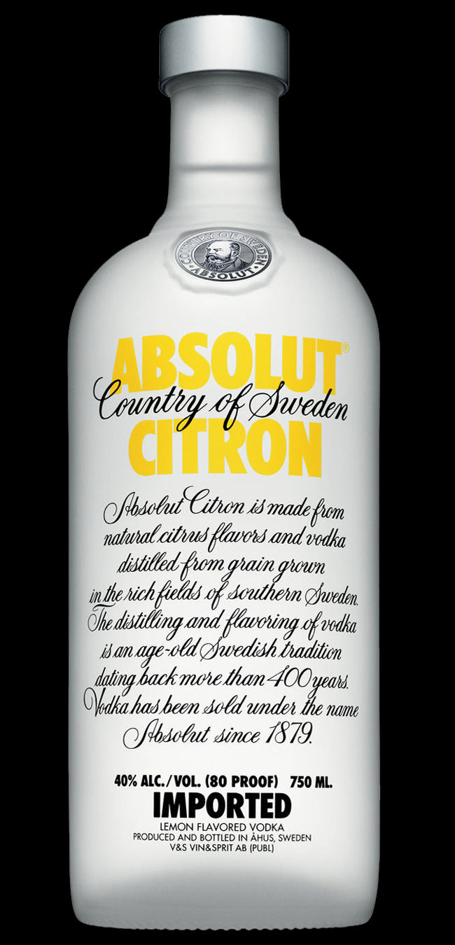 tha>Absolut Citron Vodka 750 ml