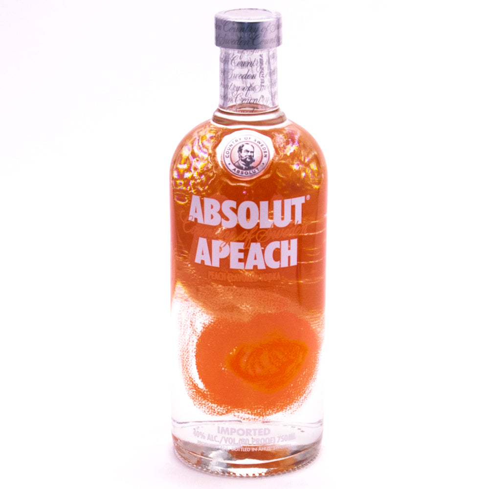 tha>Absolut Peach Vodka 750 ml