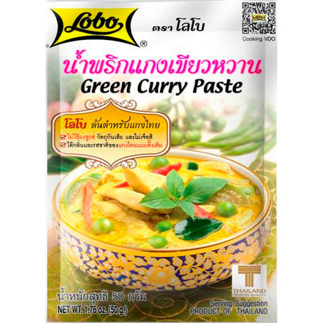 tha>Lobo green Curry Paste 50 gram