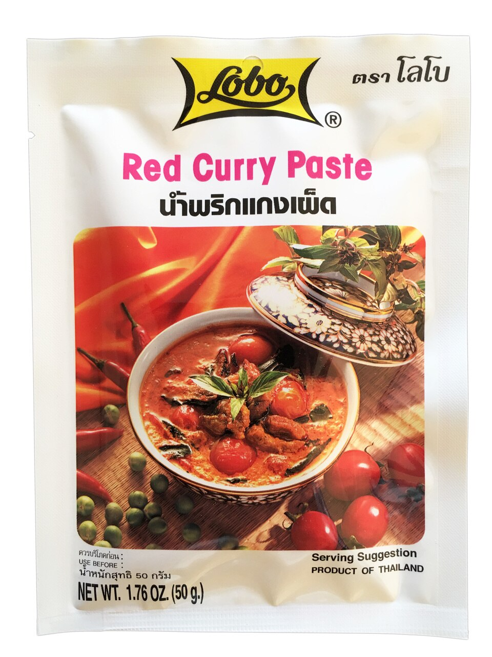 tha>Lobo red Curry Paste 50 gram