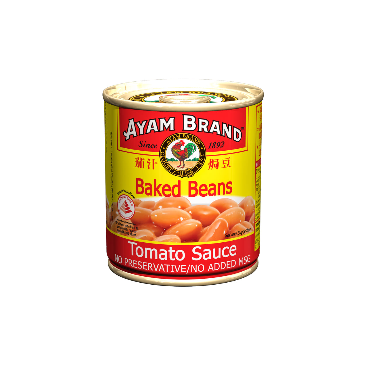 tha>Ayam Baked beans in tomato sauce, tinned food, 230 gram