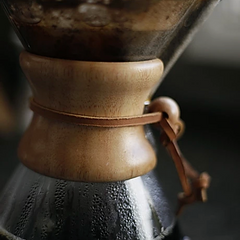 closeup of pour over