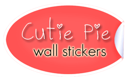 Cutie Pie Wall Stickers
