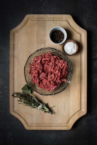 Randall Lineback Ground Beef