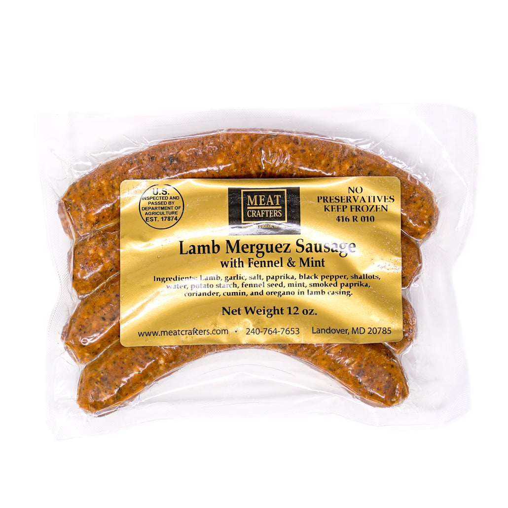 Lamb Merguez with Fennel & Mint