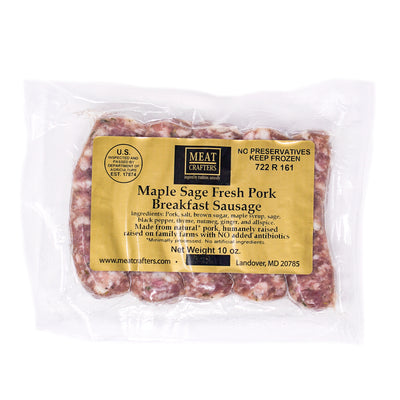 Maple Sage Breakfast Sausage
