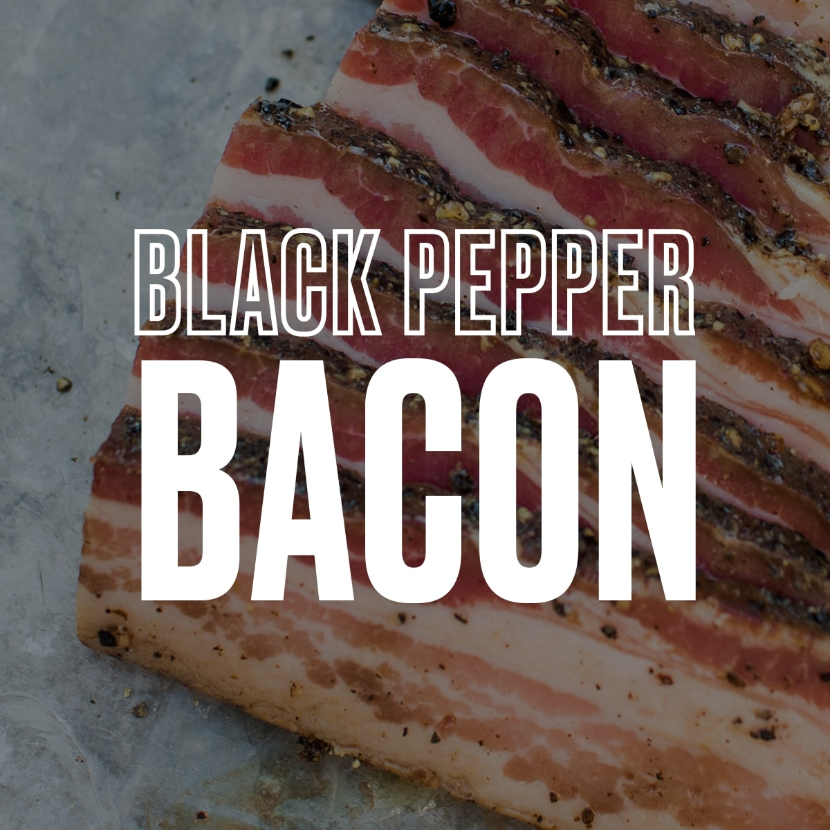 EPIC Curing's Black Pepper Bacon