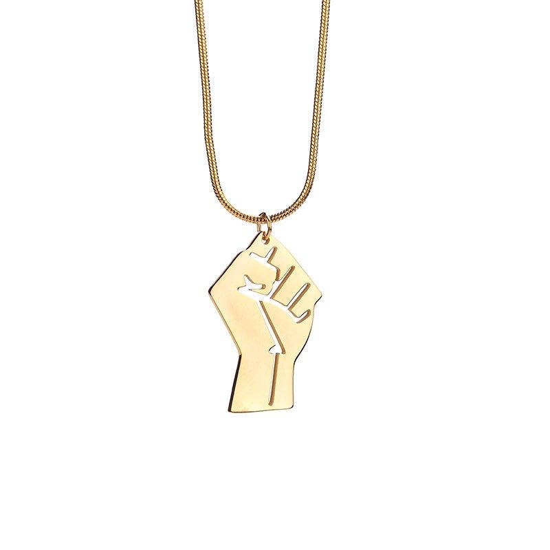 Purchase your necklace today and Support the resistance!