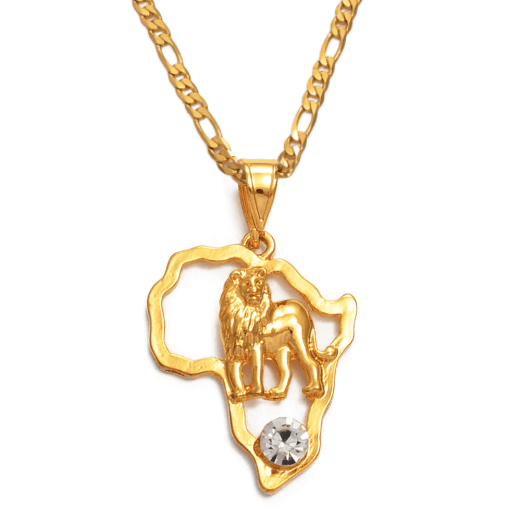 The Lion King Necklace - 18K Gold Plated