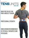 Omega Wireless TENS/EMS Combo Unit for Pain Relief
