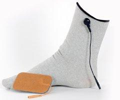 TENS Garmetrode Conductive Sock Universal One Size Fits All