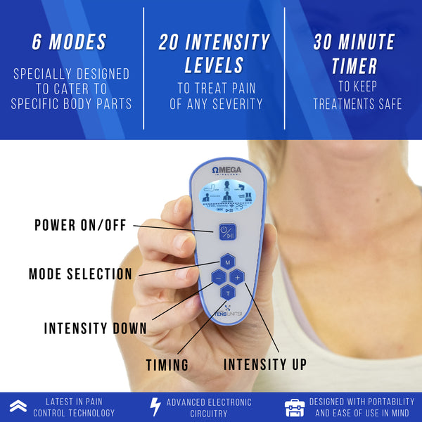 Omega Wireless TENS Unit for Pain Relief