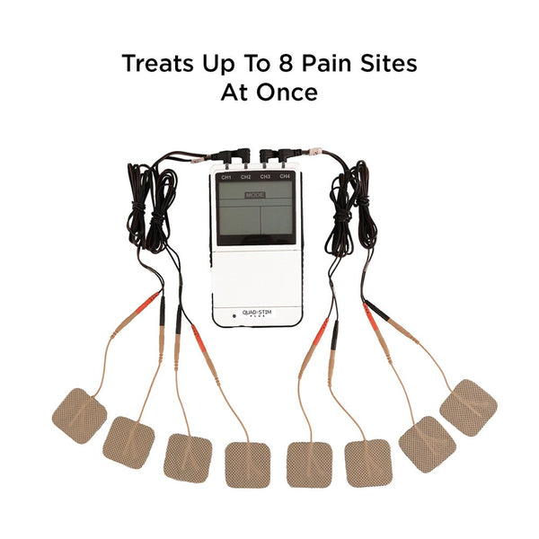 Quad Stim-Plus Digital TENS and EMS Unit