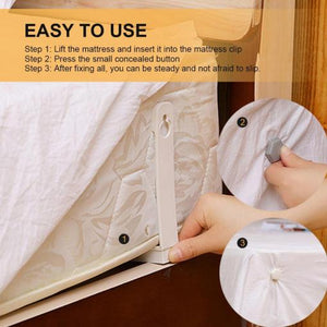 Bed Sheet Gripper Clips