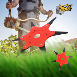 6-Blades Grass Cutter Head