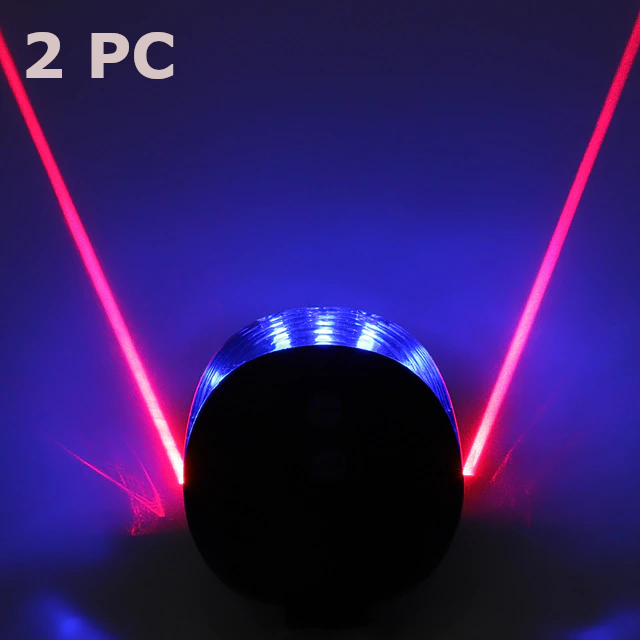 Bicycle Laser Lights