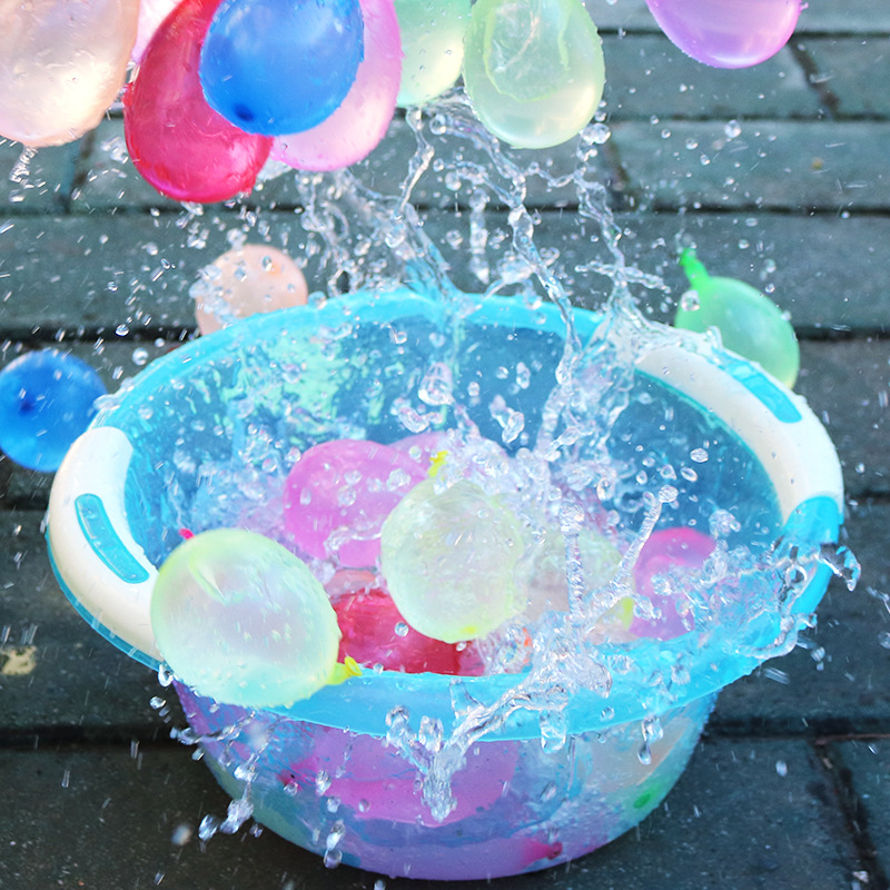 Quick-Fill Water Balloons