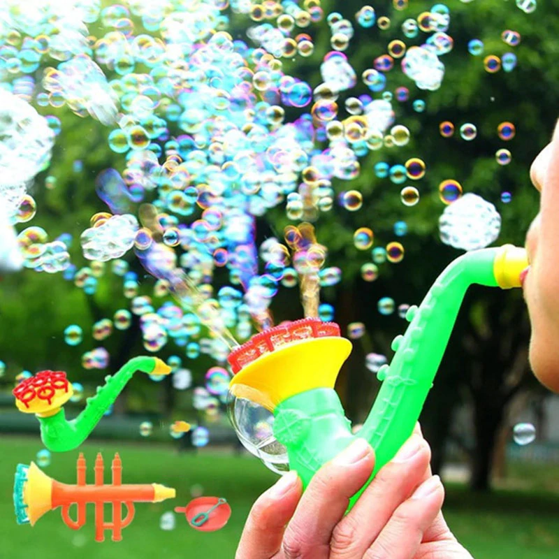 Bubble Blowing Horns