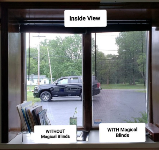 One-Way Window Protecting Films