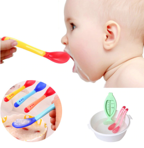 Heat-Sensing Infant Tableware