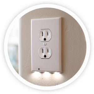 LED Nightlight Outlet Plate