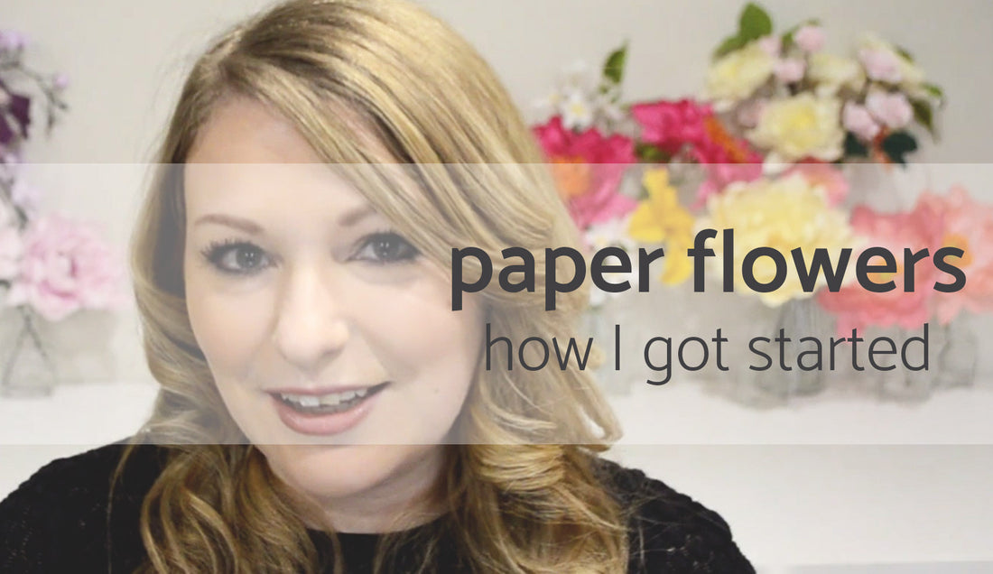 Paper flowers | Learn how to make paper flowers