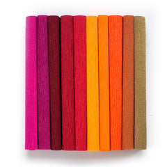 crepe paper for paper flowers