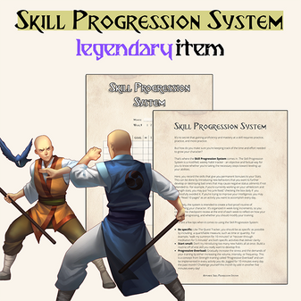 the skill progression system