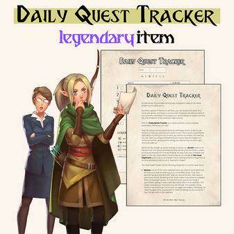 The daily quest tracker