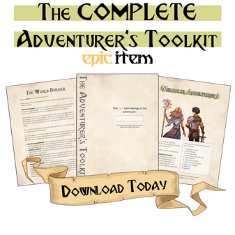 The complete adventurer's toolkit - an epic item