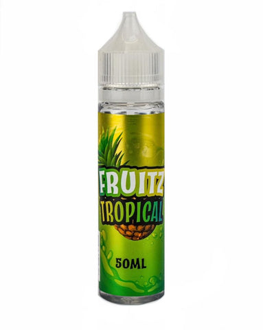 Tropical - UK E Liquid - Vape Shortfill 50ml 70VG/30PG