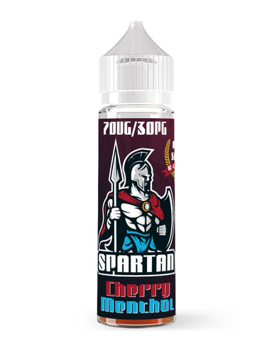 Spartan Cherry Menthol e-liquid | 50ml e liquid in stock | cheap e-liquid offers