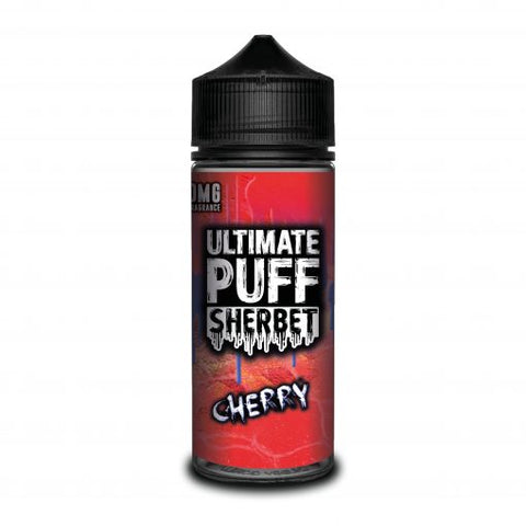 Ultimate Puff Sherbet – Cherry - UK E Liquid - Vape Shortfill 100ml
