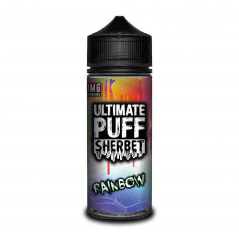 Ultimate Puff Sherbet – Rainbow - UK E Liquid - Vape Shortfill 100ml