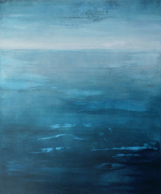 Blue Atlantic Original Painting by Orfhaith Egan | A Soft Day