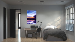 Evening Sun Original Painting 100x70cm Orfhlaith Egan Bedroom Wall