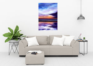 Evening Sun Original Painting 100x70cm Orfhlaith Egan Living Room Wall