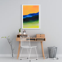 Load image into Gallery viewer, Here Comes the Sun White Frame over Desk